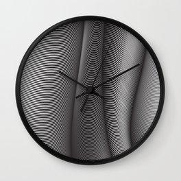 Flexible Lines 04 Wall Clock