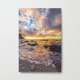 Maia beach Metal Print