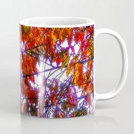Bright colored fall foliage Coffee Mug