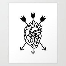 DEAD HEART Art Print