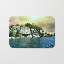 Golden Sky Over the Mountain - Mohonk Bath Mat