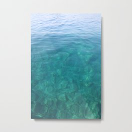 The Turquoise Coast Metal Print