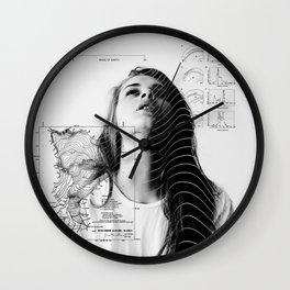MADE OF EARTH Wall Clock