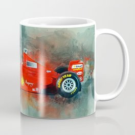 F1 Sports Car Coffee Mug