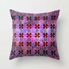 Bohemian Night Sky -Purple Throw Pillow