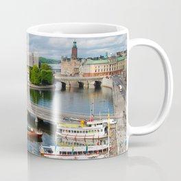Riddarholmen Island Stockholm Sweden Cityscape Coffee Mug