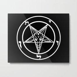 Das Siegel des Baphomet - The Sigil of Baphomet Metal Print