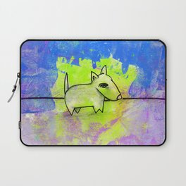 Dog No.1c by Kathy Morton Stanion Laptop Sleeve