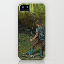 Fisherman's Paradise iPhone Case