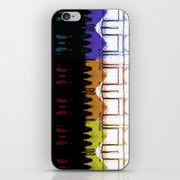 milan iPhone & iPod Skins featuring Milan Multi by Iconic Arts