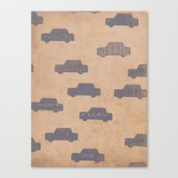 car Canvas Prints featuring Car by sinonelineman
