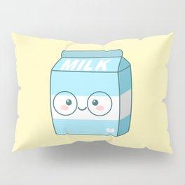 Kawaii Milk Pillow Sham
