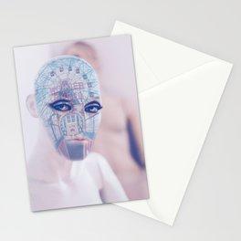 Wonder wheel portrait Stationery Cards