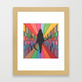 You're Among Friends Framed Art Print