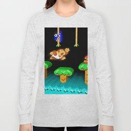 Inside Donkey Kong Junior Long Sleeve T-shirt