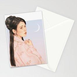 in bloom [iu lee jieun] Stationery Cards