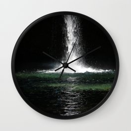 Iron Falls Wall Clock