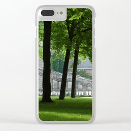 Guarding Trees Clear iPhone Case