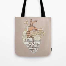 Sound Of My Heart Tote Bag