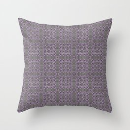 Digital Chip Inspired Quilted Designs Throw Pillow