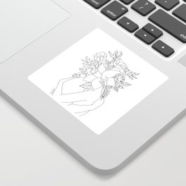 Blossom Hug Sticker