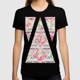 Aztec Floral  Diamond T-shirt
