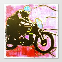 moto Canvas Prints featuring moto by jasondavis