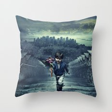 child of New York Throw Pillow