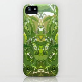 Jungle Mirror iPhone Case