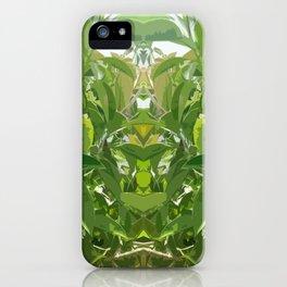 Jungle Mirror iPhone Case
