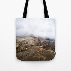 geothermal steam Tote Bag