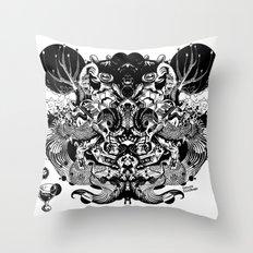 Scorn Pourer Throw Pillow