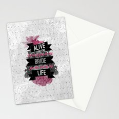 Be My Bride Stationery Cards