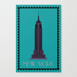 Empire State Building NY Canvas Print