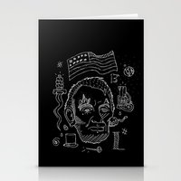 lincoln Stationery Cards featuring Abraham Lincoln by Maioriz Home