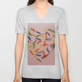 Sweet heart Unisex V-Neck