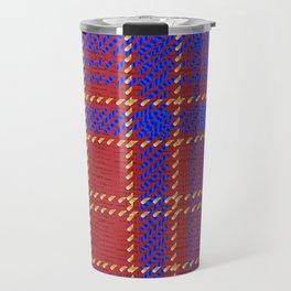Blue Kilt Tartan Travel Mug