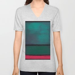 Rothko Inspired #8 Unisex V-Neck