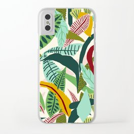 Naive Nature Clear iPhone Case