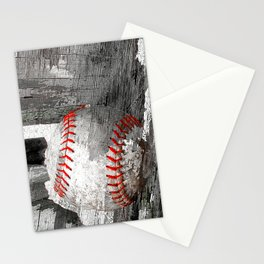 Baseball art vs 13 Stationery Cards