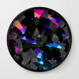 Holographic 1 Wall Clock