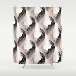 Serenity pattern Shower Curtain