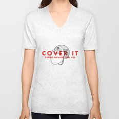 Cover it - Zombie Survival Tools Unisex V-Neck