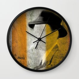 The Detective Wall Clock