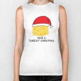 Have a cheesy Christmas Biker Tank