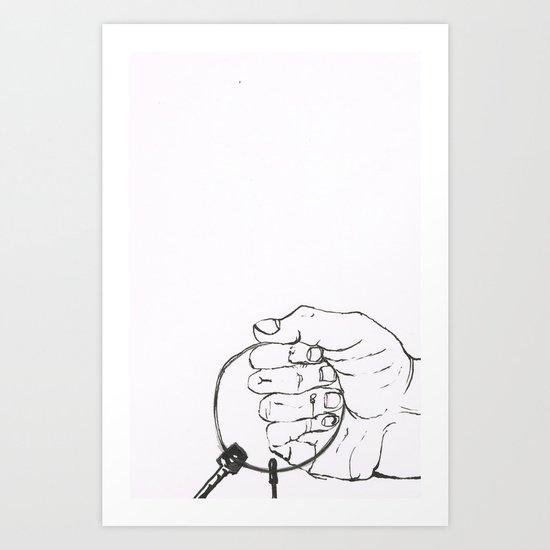 Frejas keys Art Print