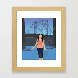 NINA – IN THE HEIGHTS Framed Art Print