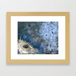 The Process of Letting Go Framed Art Print