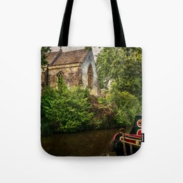 Church By The Oxford Canal Tote Bag