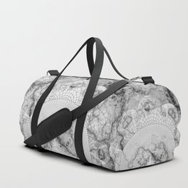 Foliated Marble as a Geometric Map of the Universe Duffle Bag